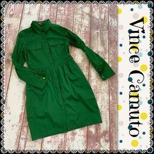 Vince Camuto shirt dress, size 6